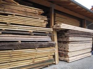 Holz ist unser Rohstoff